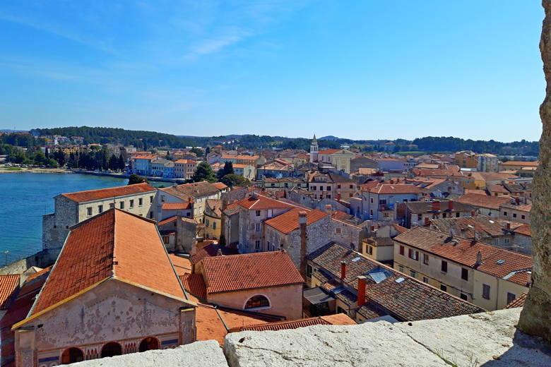 Poreč city, Istria