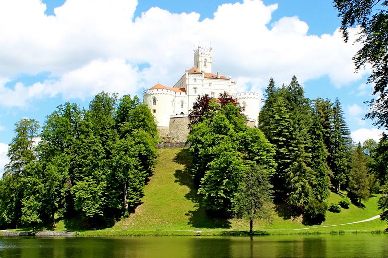 Trakošćan castle, Zagorje