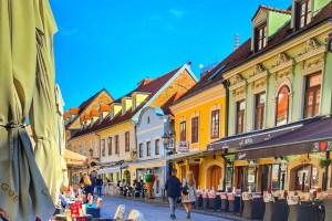 Tkalčićeva street Zagreb