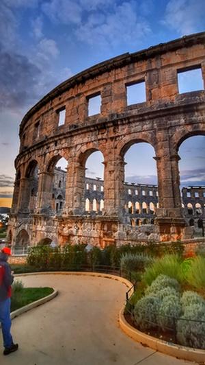 Pula, Arena, Istria,