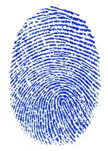 Blue finger print by Davide Guglielmo, Albignasego, PD, Italy http://www.broken-arts.com 227873_fingerprint