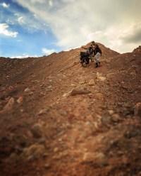 hard time crossing the Taklamakan Desert