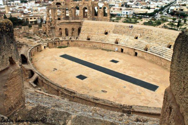 amphithéatre el jem قصر الجم