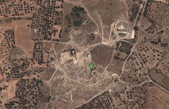 Le site par Google Earth