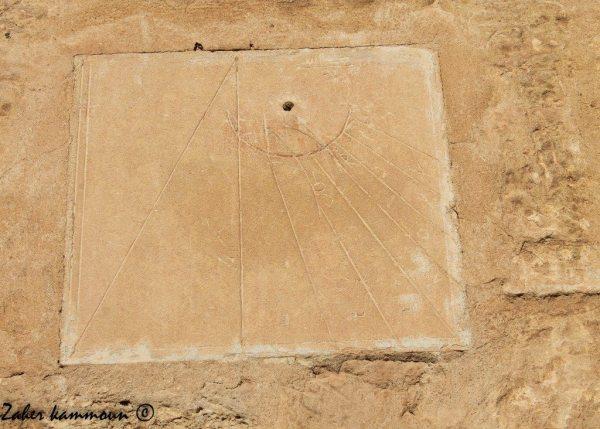 ساعة شمسية تونس cadran solaire Tunisie