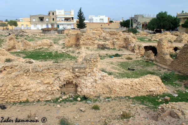 Les thermes d'Ouled Dhiba