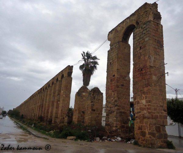 Aqueduc Hafside الحنايا الحفصية