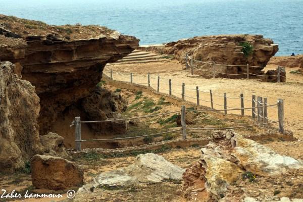 Les grottes d' el Haouaria مغارات الهوارية