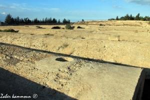 Le citernes de Malga de Carthage خزانات المعلقة
