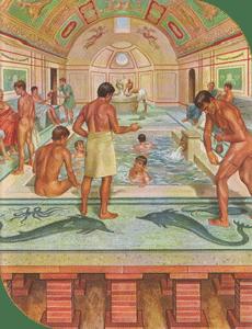 Les thermes romains