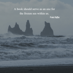Frozen Sea Quote by Kafka
