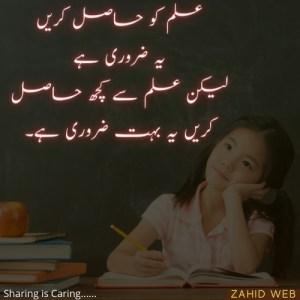 ilm Ko Hasil Karein Ye Zarori Hai