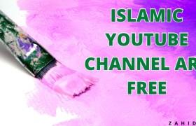 Islamic YouTube Channel Art Premium Design Free