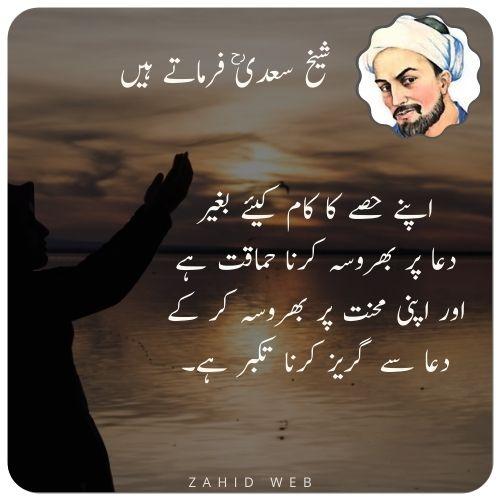 Sheikh Sadi Hakayat in Urdu