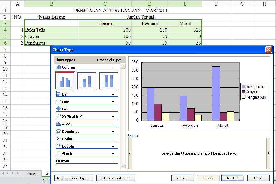 Inilah Contoh Laporan Keuangan Excel