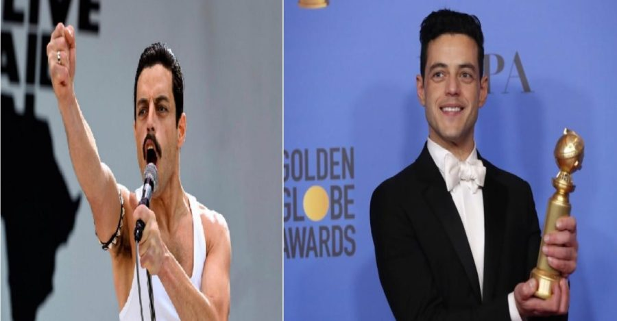 رامي مالك يحصد جائزة الجولدن جلوب لأفضل ممثل عن الملحمة