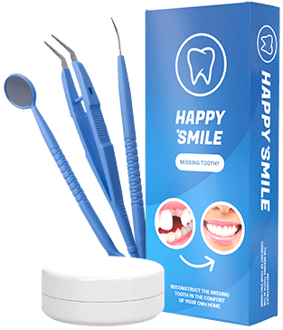 happy smile Zahnimplantat
