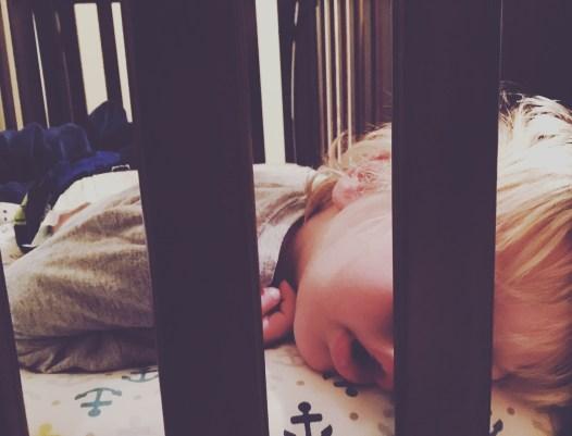Creepin on his nap
