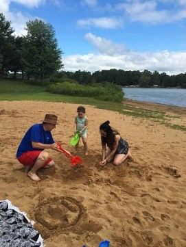 Building sand castles with Vovo