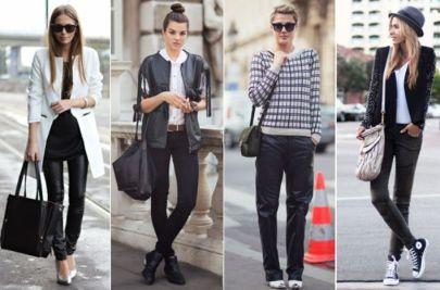 vestirte bien en blanco y negro