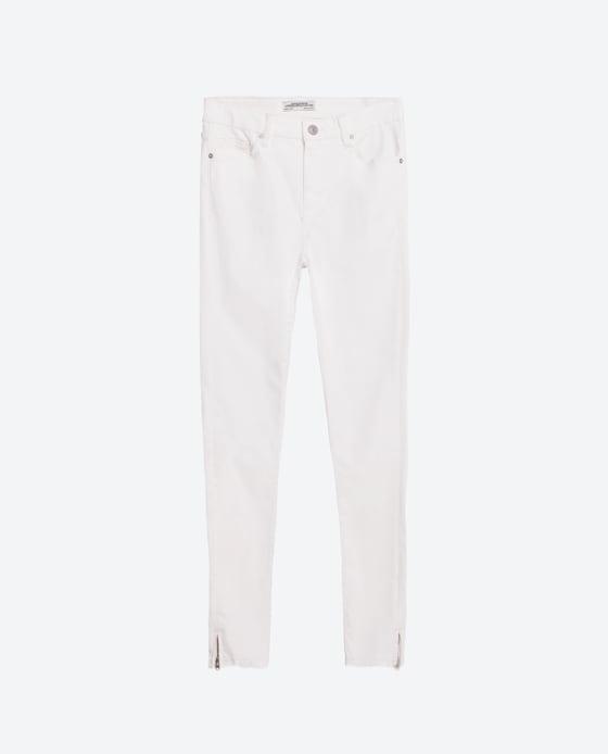 Como combinar pantalon blanco