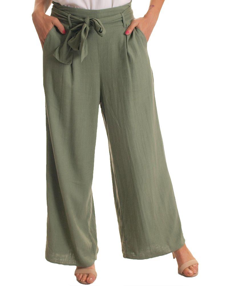 pantalones de verano palazzo