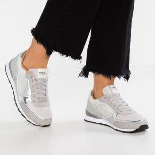 Perfecto b Only Shoes b - Onlsillie Mix - Mujer b Zapatillas b 2018 - Plateado Madrid 357