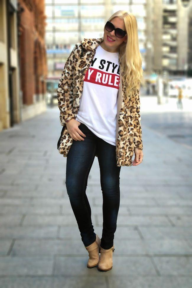 estampado de leopardo looks