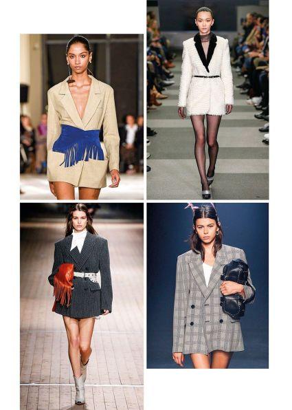vestido blazer tendencia 2019
