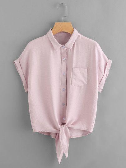 nudo en camisa tendencias primavera 2019