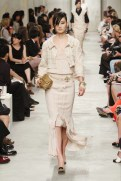 CHANEL resort 2014 Singapore - Beige outfit