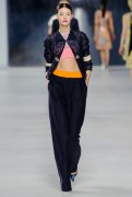 Dior Cruise 2014 - Blue top and pants