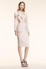 Altuzarra Resort 2014 - Peach jacket and skirt