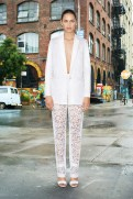 Givenchy Resort 2014 - White lace jacket and pants