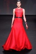 Christian Dior Fall 2013 Couture - Long red dress