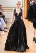 Zuhair Murad Fall 2013 Couture - Black dress