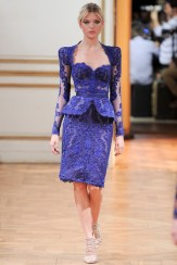 Zuhair Murad Fall 2013 Couture - Purple jacket and skirt
