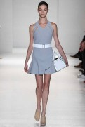 Victoria Beckham Spring 2014- Grey dress