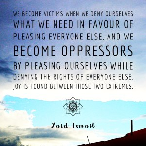 Read more about the article Don't be the victim oppressor