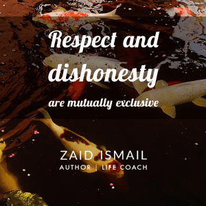Read more about the article Respectfully dishonest