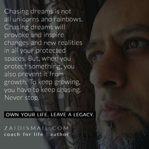 Read more about the article Never stop chasing