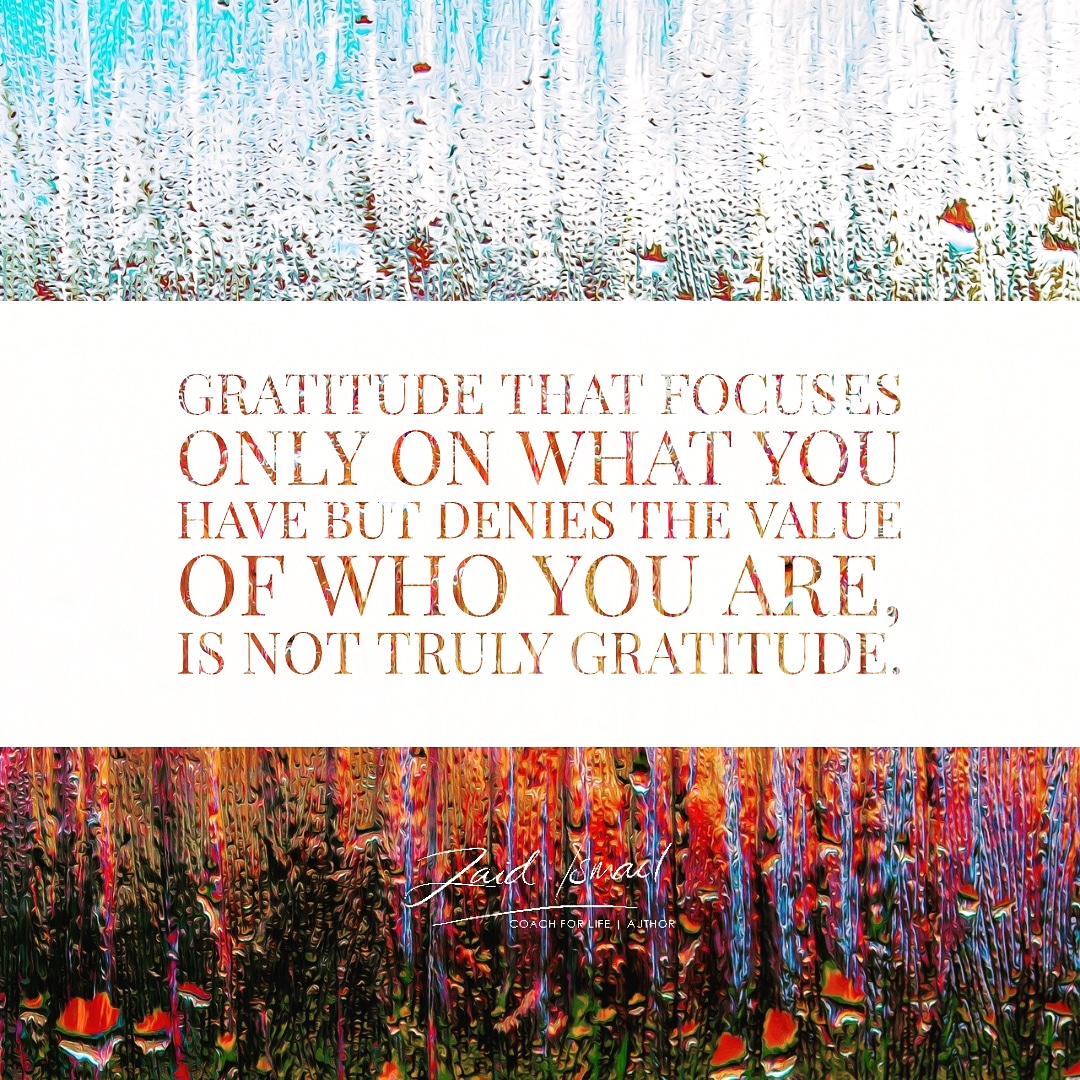 You are currently viewing Are you grateful for you?