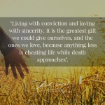 Read more about the article Live life. Really, live it.