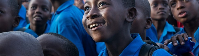 African school children - Zain Ventures investing in Africa