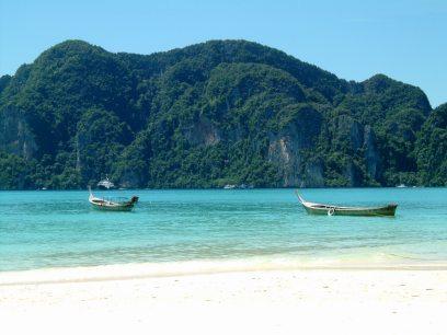 Phi Phi Island - Beach X (2003.10.27)