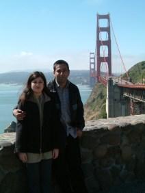 San Franscisco - Golden Gate Bridge View & Us (2004.05.19)
