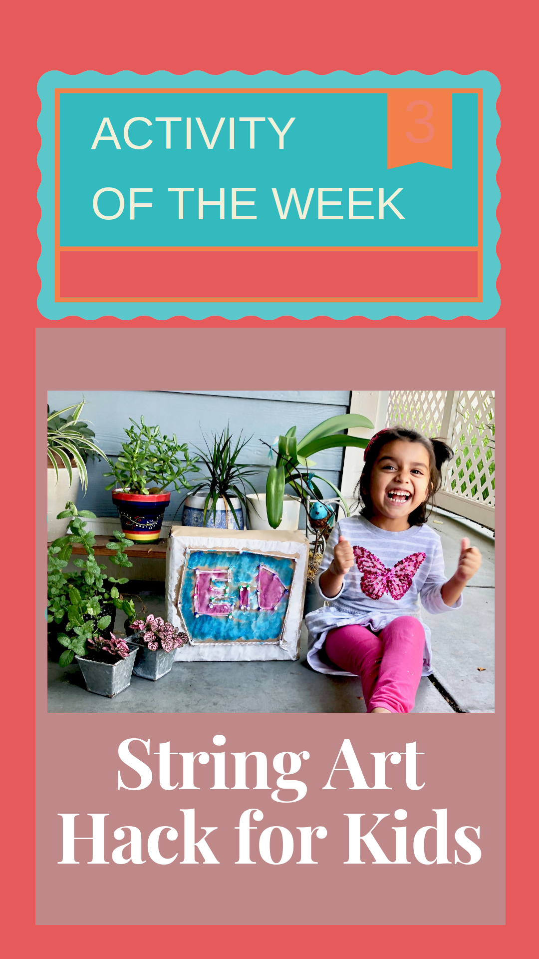Activity Of The Week: String Art Eid Sign