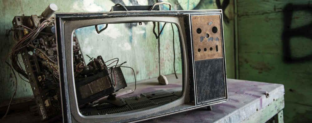 Zepsuty telewizor