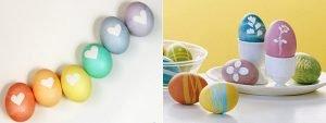 Великденски яйца - 6 интересни и лесни метода за боядисване