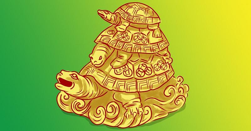 тройна костенурка
